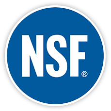 Certification et approbations NSF